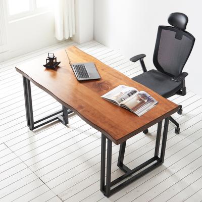 코디 1600x600 우드슬랩 책상 원목 테이블