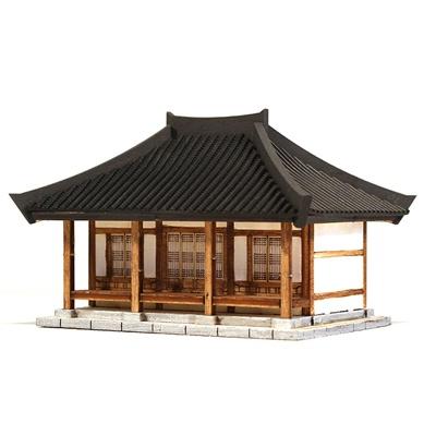 [히스토리하우스] 한옥시리즈: 미니 우진각지붕 한옥
