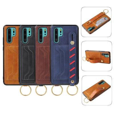 아이폰 11 pro max 가죽 패션 스트랩 카드수납 케이스