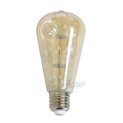 GALH LED 눈꽃램프 (ST64 E26)_전구색 인테리어