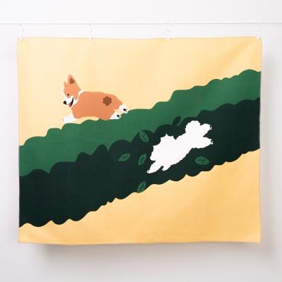 OOPS_DOG 패브릭포스터