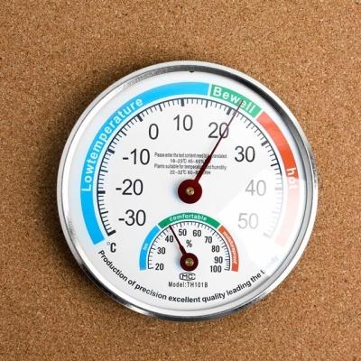 원형 아날로그 온습도계 온도계 겸용 습도계