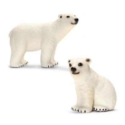 북극곰 가족 세트