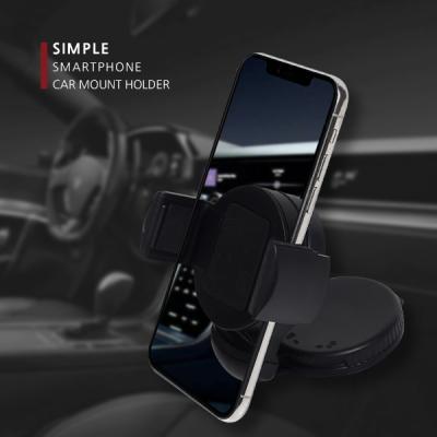 360도 각도조절 차량용 흡착식 스마트폰 거치대SIMPLE