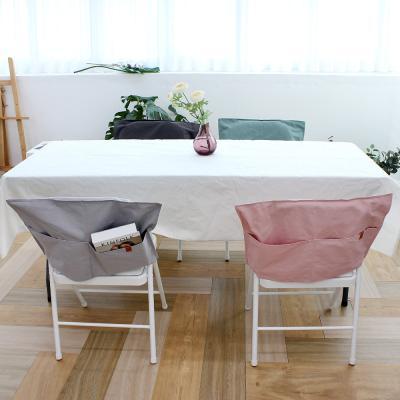 루나 면 포켓 식탁 의자커버 대 1P 58x38