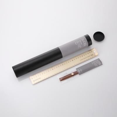 로그 전문가용 황동자 30cm (Wide type)-Brass Ruler