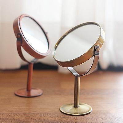 [콩지] 빈티지 미니 양면 거울