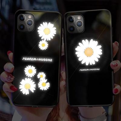 아이폰11 PRO MAX XR XS 플라워 발광 라이팅 케이스