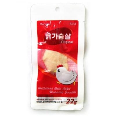 고양이 간식 통 닭가슴살 오리지널 22g 영양 보충