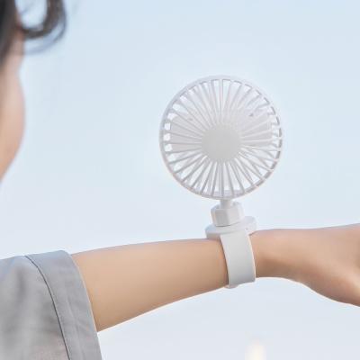 더리빙 밴풍기 밴드형 선풍기 손풍기 유모차선풍기
