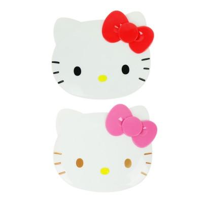 (일본직수입) 헬로키티 거울콤보세트 (레드,핑크)