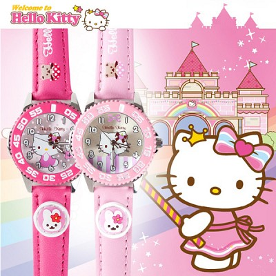 [Hello Kitty] 헬로키티 HK-025 시리즈 아동용시계 [본사정품]