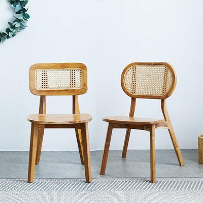 [리비니아]마들렌 라탄 의자 2types