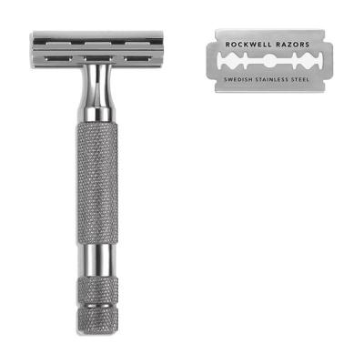 Rockwell 스타터킷2C (2C면도기,스텐드,면도날 20팩)