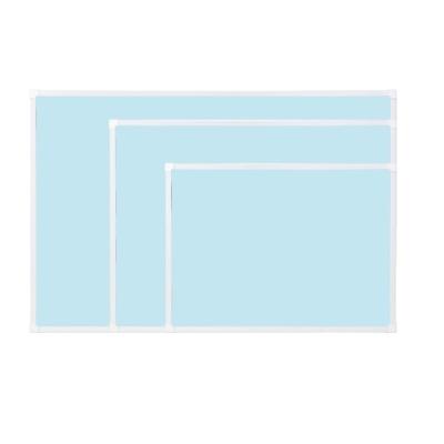 [두문] 더슬림자석보드 블루 600x400mm