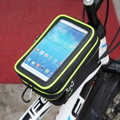 터치가능 자전거 스마트폰가방 / 2단 접착 자전거백