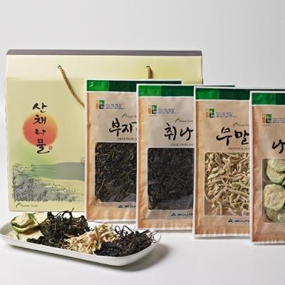 [산속마을] 산채나물 4종 선물세트 2호