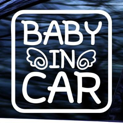BABY IN CAR - 초보운전스티커(NEW042)