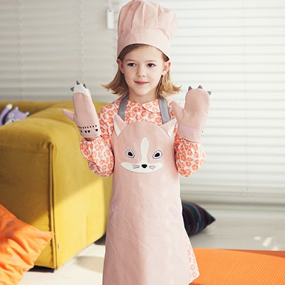 SHASHA apron set for kids