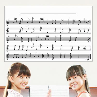 ps067-피아노 오선지_칠판시트지_붙이는칠판스티커