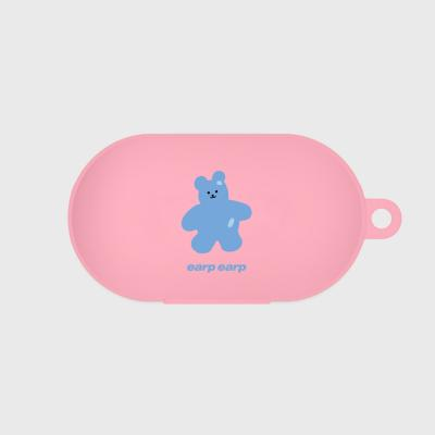 Color bear-pink(buds jelly case)