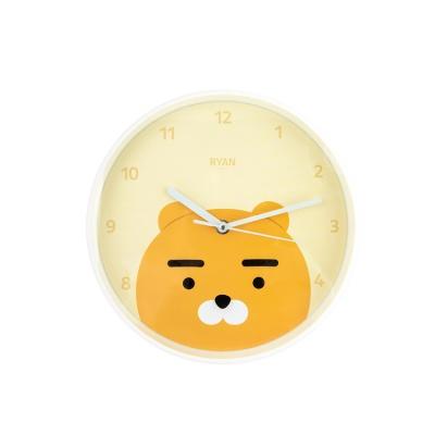 카카오 원형벽시계 라이언C7624