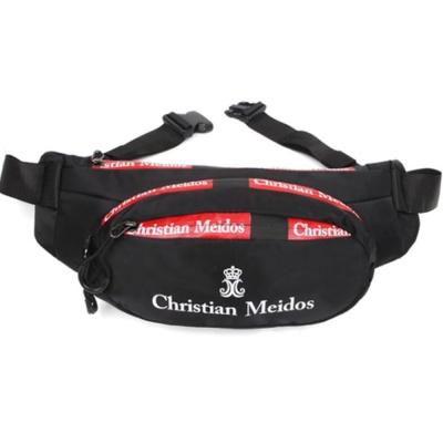 남성 캐주얼 운동 힙쌕 블랙 슬링백 등산 보조 가방