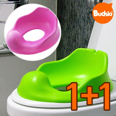 [버드시아] 1+1 점보 유아용 쿠션 변기커버(비데 호환가능)