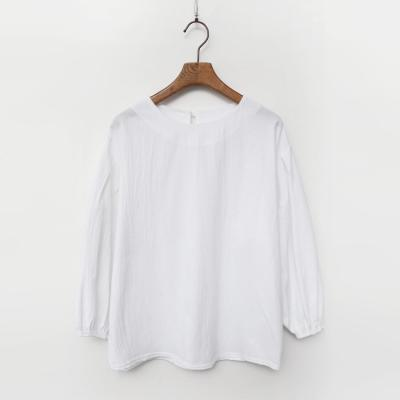 Spring Cotton Puff Blouse