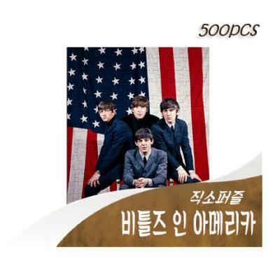 [비앤비퍼즐] 500PCS 직소 비틀즈 인 아메리카 PL854