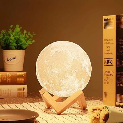 [KC인증] 3D Moon Lamp 달무드등 15cm 특가