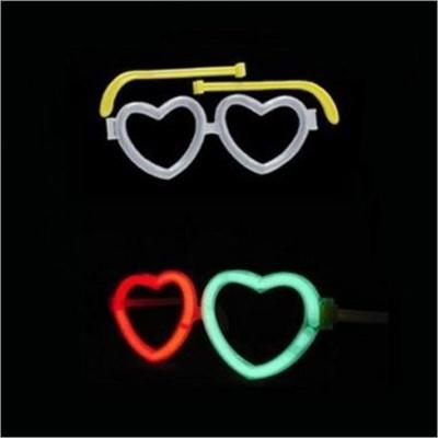 파티 클럽 콘서트 악세사리 안경 WC062 하트프레임