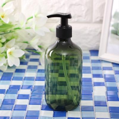 욕실 디스펜서 원통 샴푸용기(그린) /500ml 리필용기