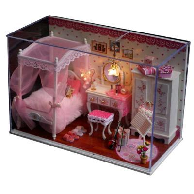 [adico]DIY미니어처 하우스 - 핑크공주의 방