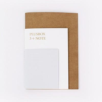 PLUSBOX 3+NOTE(무선노트, 베이직노트, 실제본)