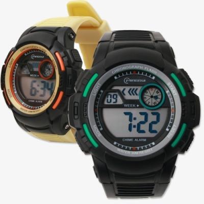 포포팬시 클래식 멀티 전자 손목시계