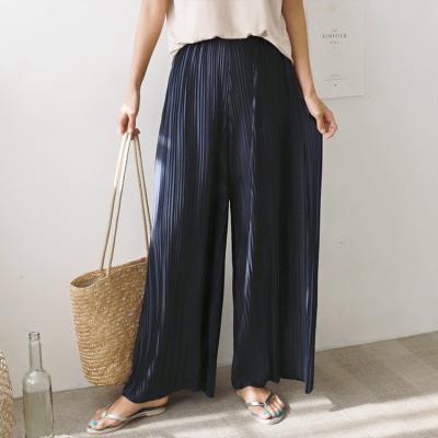 Pleats Wide Pants