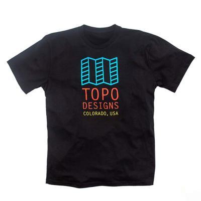 토포디자인 ORIGINAL LOGO TEE BLACK TDOLT015