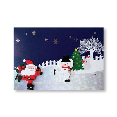 크리스마스 슬라이드 카드 / 025-CM-0185