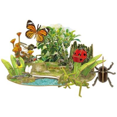 [3D퍼즐마을][DS0982h] 내셔널지오그래픽 곤충 왕국 (Insect Superpowers)