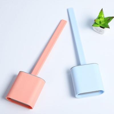 말랑브러쉬 인테리어 변기솔 4color