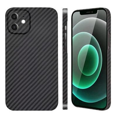 아이폰 12 Mini 페버 카메라 보호 풀 케블라 카본 케