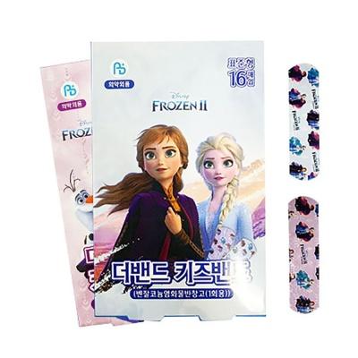겨울왕국 키즈밴드 표준형(16매입x1팩) 엘사 반창고