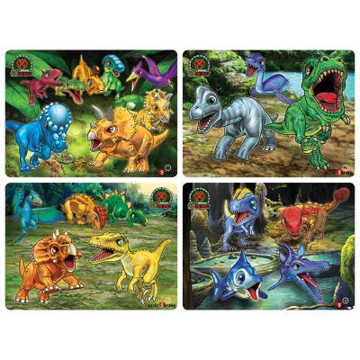 12 18 24 35조각 판퍼즐 - 공룡메카드 (4종)