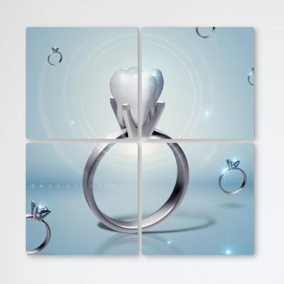 tb381-멀티액자_다이아몬드같은치아