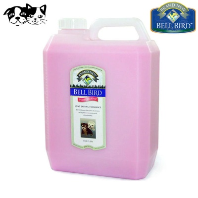 뉴벨버드 내츄럴 샴푸린스 핑크 (퍼피용) 4L
