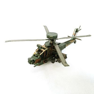 [이노메탈퍼즐] 헬리콥터(大) 금속조립키트 (000539) 메탈웍스