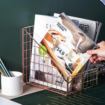 메탈 파일 문서 서류 책상 정리 꽂이 박스 보관함