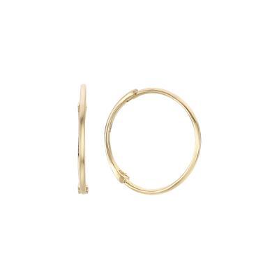 베이직 슬림 링귀걸이(11mm) ENOM4002