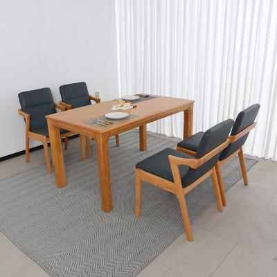 이보 원목 식탁세트 의자형 4인용